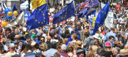EU and UK flags