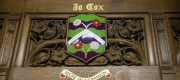 The commemorative plaque to Jo Cox in the House of Commons