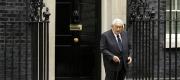 Former US Secretary of State Henry Kissinger outside 10 Downing Street