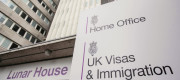 The headquarters of UK Visas and Immigration