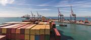 Cargo in a dock