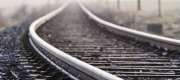 A picture of some rail tracks