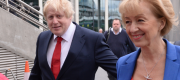 Andrea Leadsom and Boris Johnson