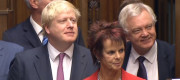Boris Johnson, Anne Milton and David Davis in 2016