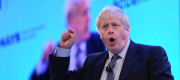 Boris Johnson at the 2019 CBI conference