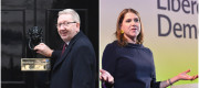 Len McCluskey and Jo Swinson