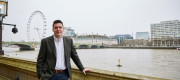 Huw Merriman MP on the Commons Terrace