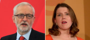 Jeremy Corbyn and Jo Swinson
