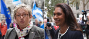 Joanna Cherry and Gina Miller