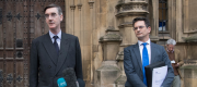 Jacob Rees-Mogg and Steve Baker