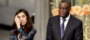 Nadia Murad and Dennis Mukwege
