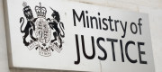 Ministry of Justice sign