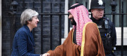 Theresa May meets Saudi Crown Prince Mohammad bin Salman