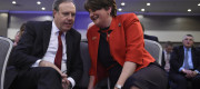 Arlene Foster and Nigel Dodds