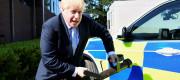 Boris Johnson police