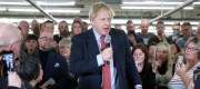 Boris Johnson in Matlock, Derbyshire