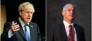 Boris Johnson and Stephen Barclay