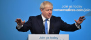 Boris Johnson speaks after he was announced the new Tory leader