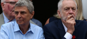 Dave Prentis and Jeremy Corbyn