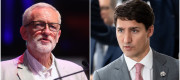 Jeremy Corbyn and Justin Trudeau