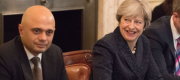 Sajid Javid and Theresa May