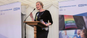 Sarah Wollaston at last year's NHS70 Awards