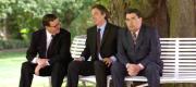 David Trimble, Tony Blair and John Hume