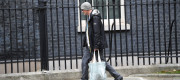 Dominic Cummings arrives for a Cabinet meeting at 10 Downing Street, London