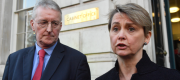 Yvette Cooper and Hilary Benn