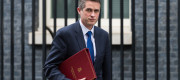 Secretary of State for Defence Gavin Williamson leaves after a Cabinet meeting at 10 Downing Street