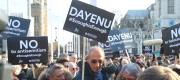 Anti-semitism protest