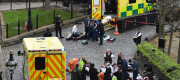 The scene on the parliamentary estate yesterday afternoon