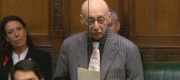 Gerald Kaufman in the House of Commons in 2015