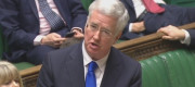 Michael Fallon in the House of Commons
