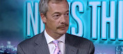 Nigel Farage moustache on RT