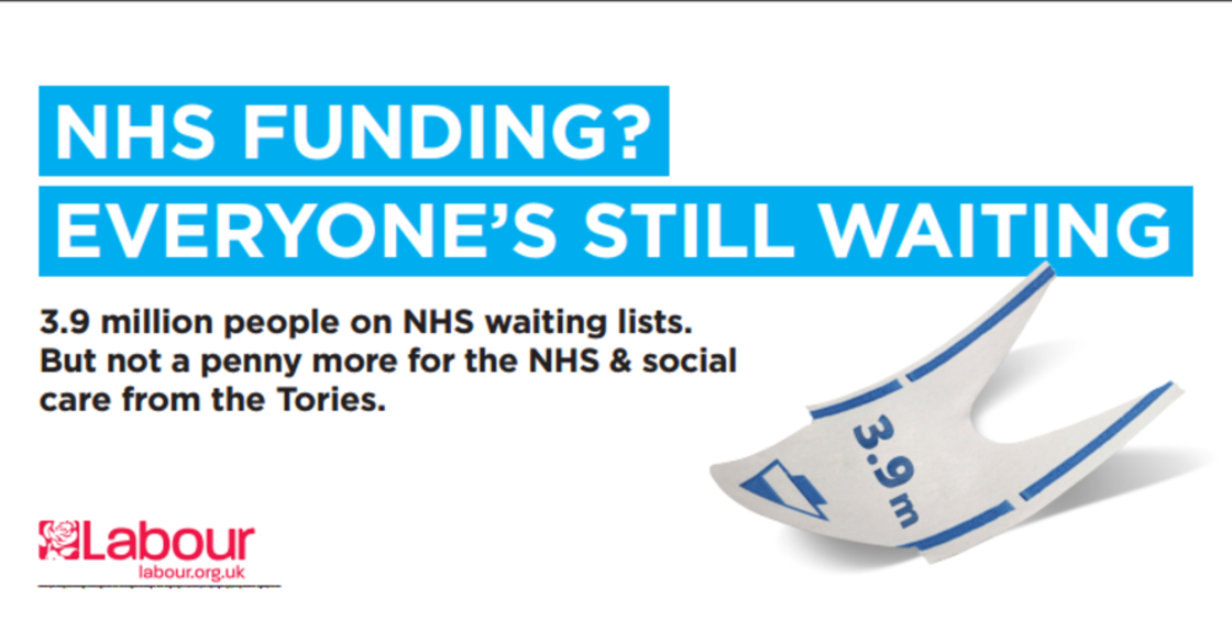 Image result for tories NHS poeter photo