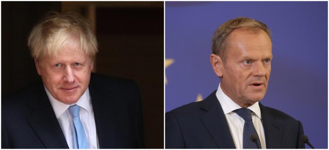 Boris Johnson threatens to withhold £30bn of EU 'divorce bill' under a no-deal Brexit