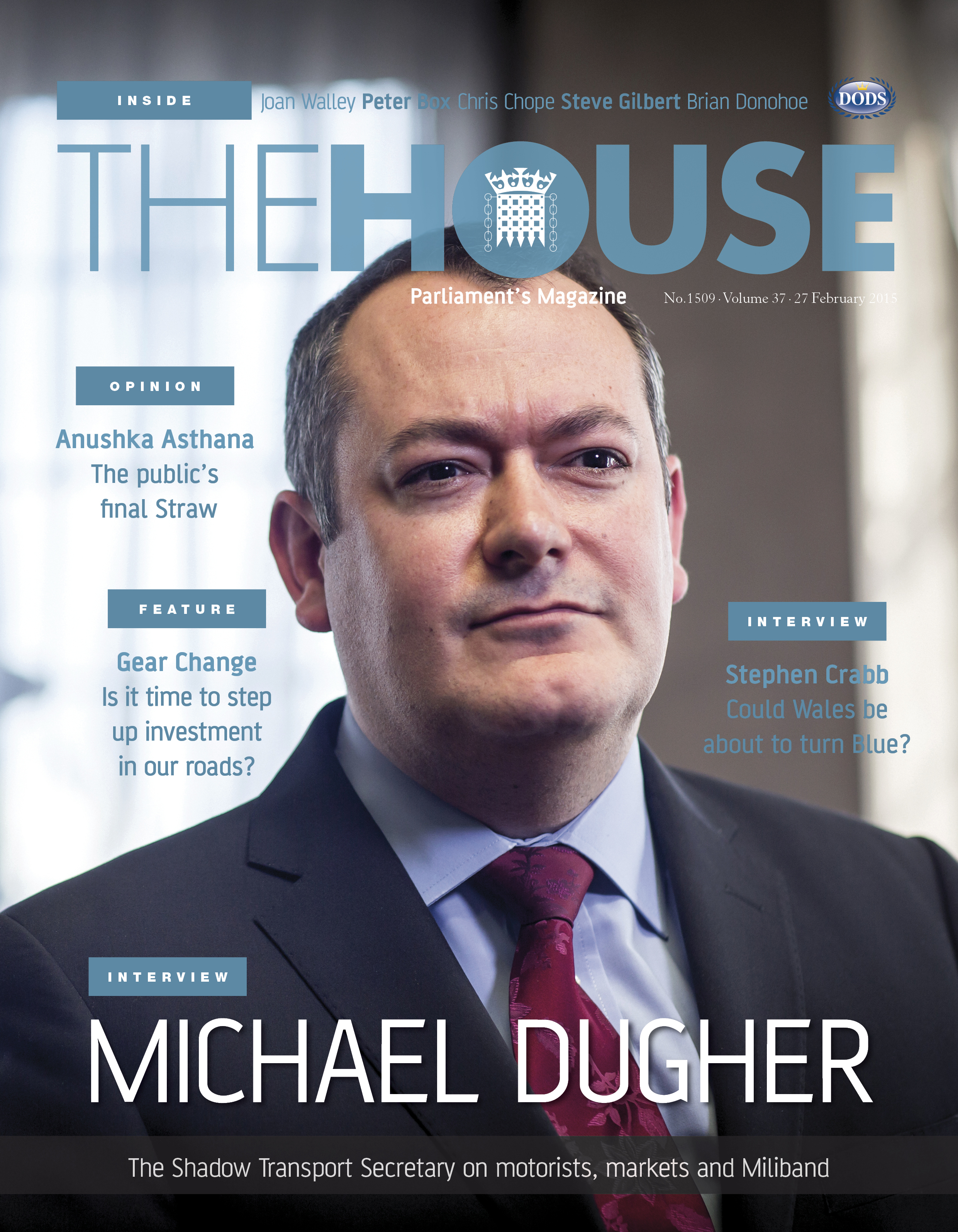 The House Magazine front cover