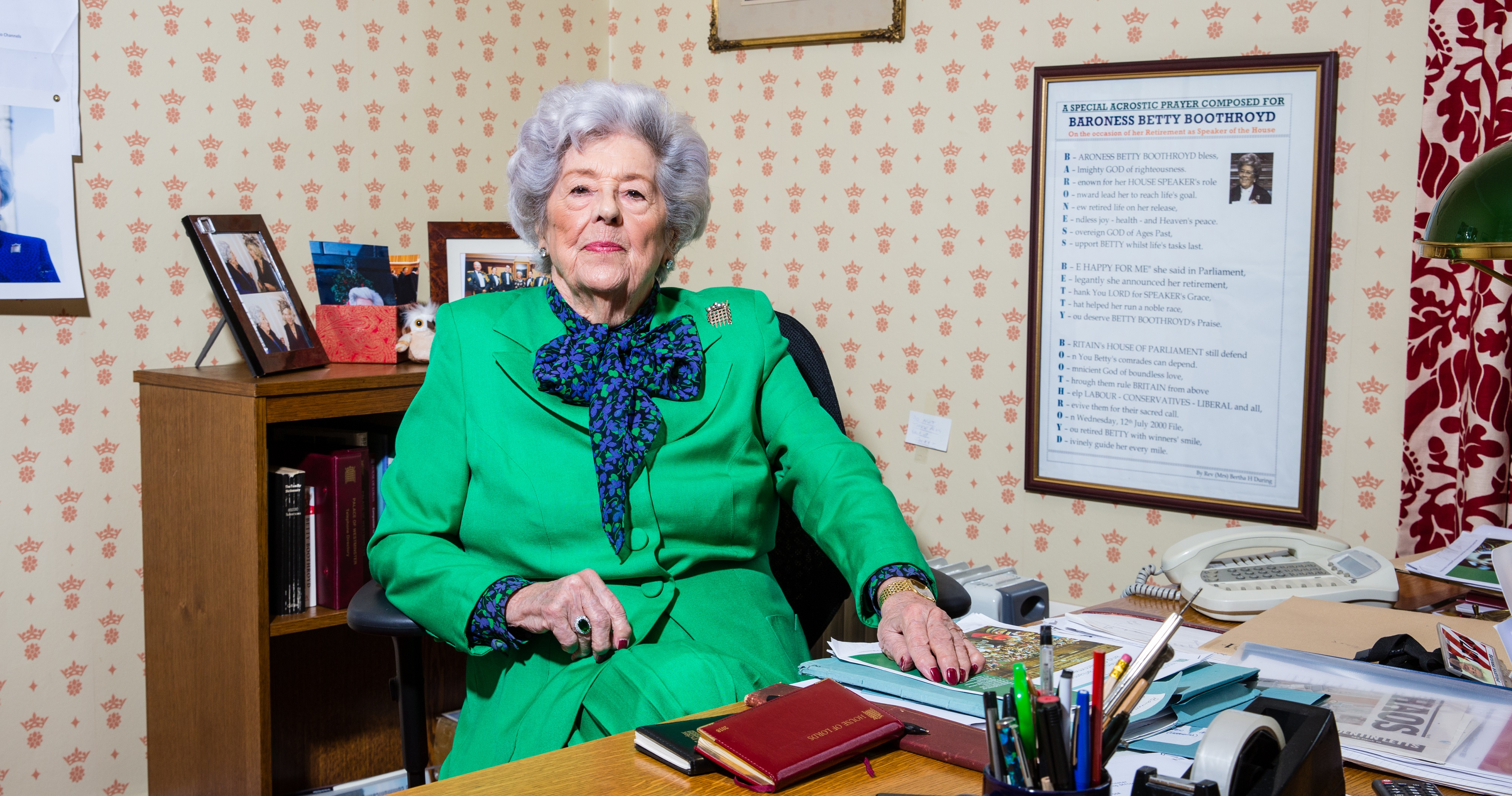 Betty Boothroyd served as Speaker of the House of Commons from 1992-2000