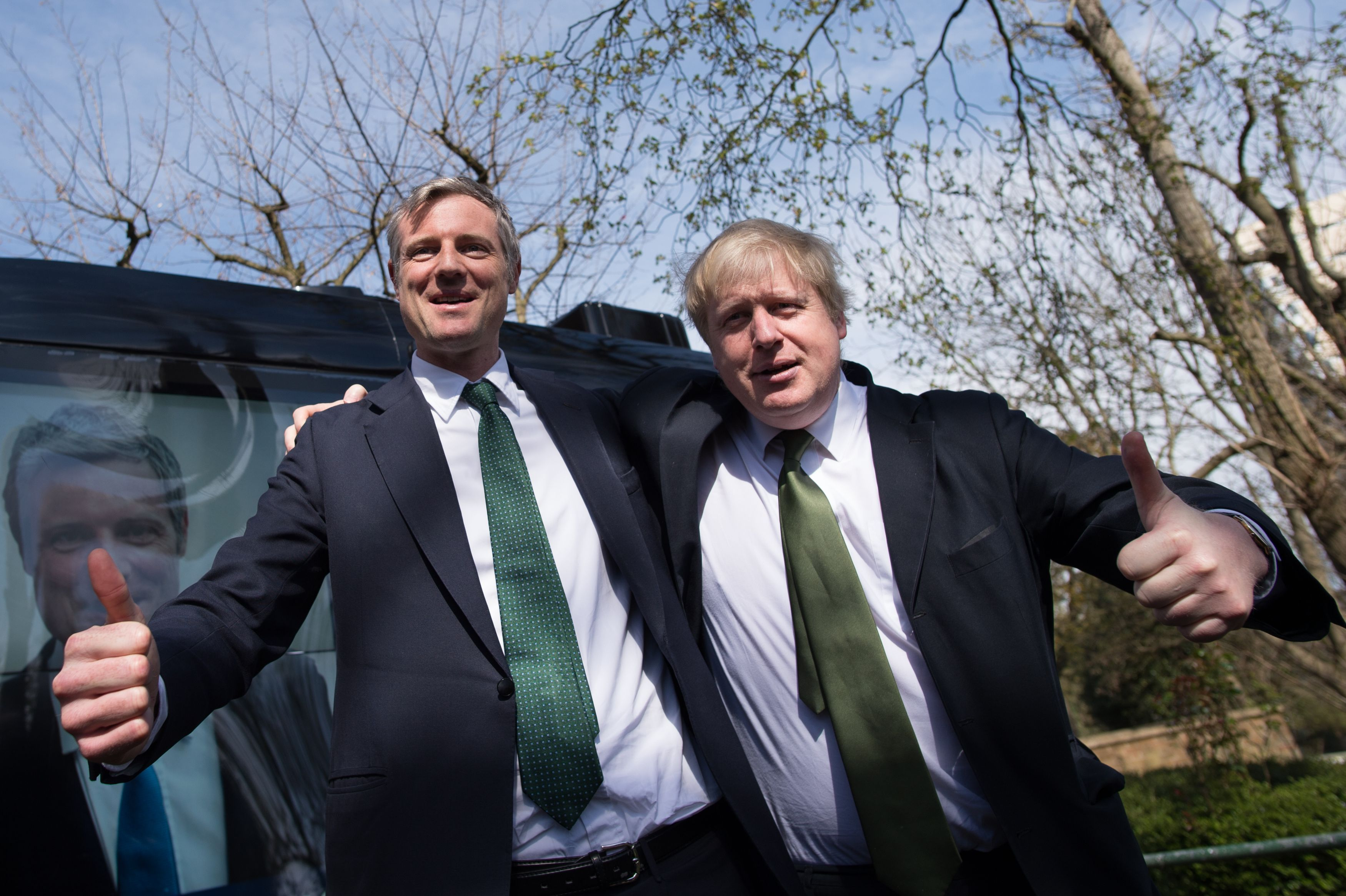 Zac Goldsmith Boris Johnson