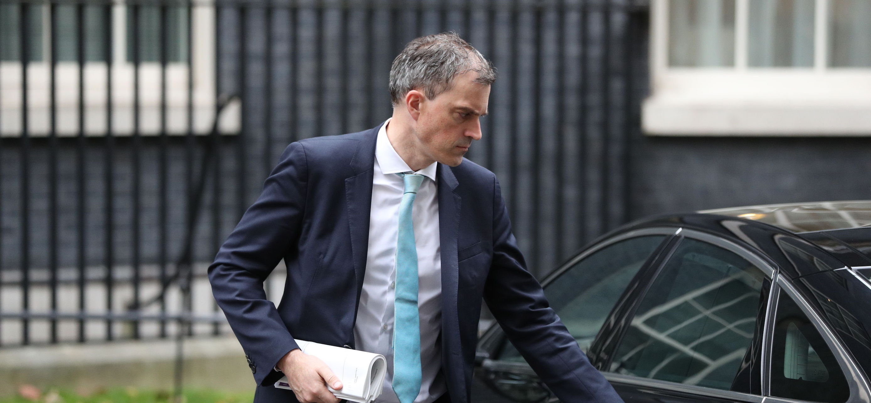 Conservative chief whip Julian Smith