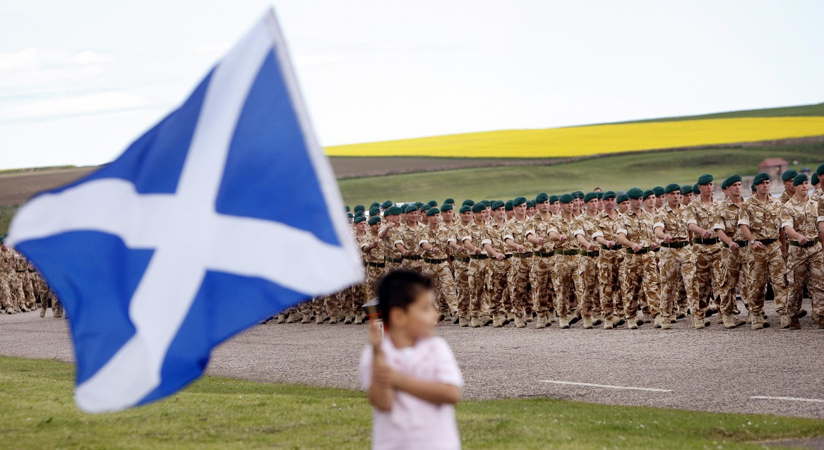 Scots soldiers