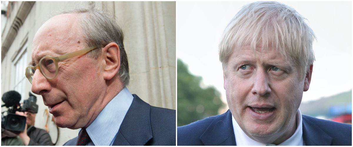 Sir Malcolm Rifkind and Boris Johnson