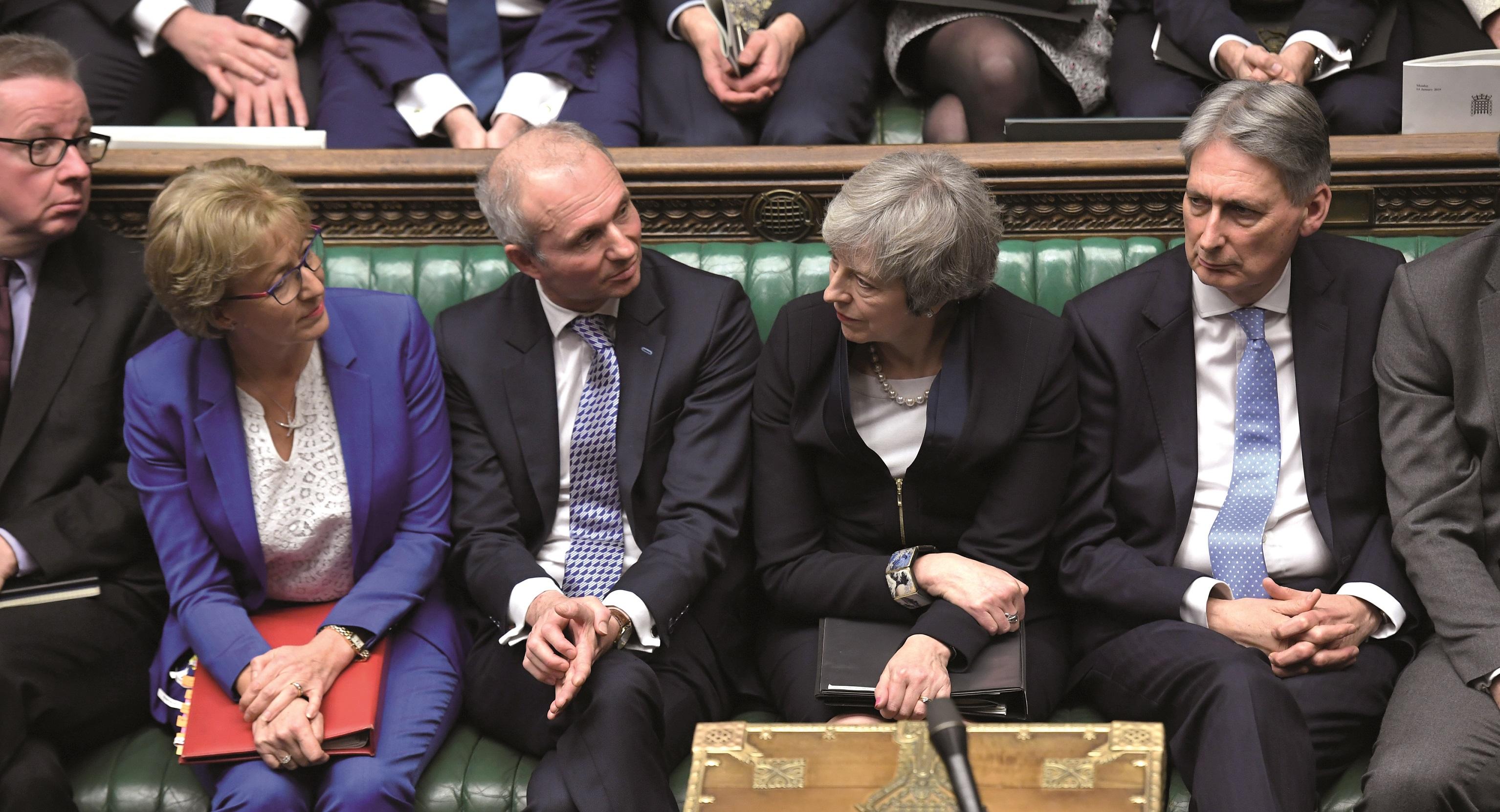 Leadsom, Lidington and May