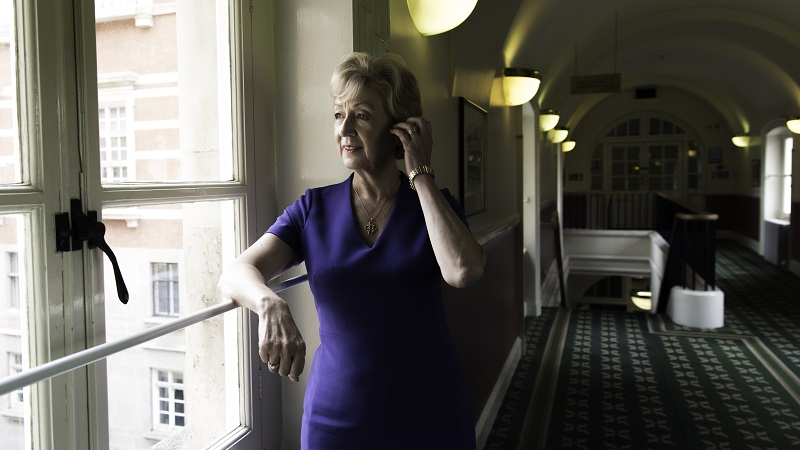 Andrea Leadsom is running to be Conservative leader for the second time