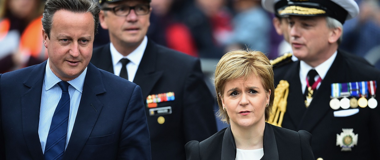 David Cameron and Nicola Sturgeon