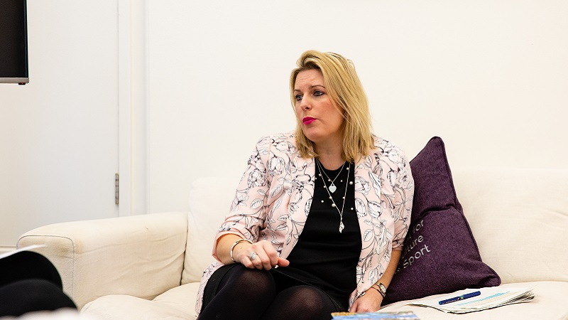 Mims Davies is a minister in the Department for Digital, Culture, Media and Sport