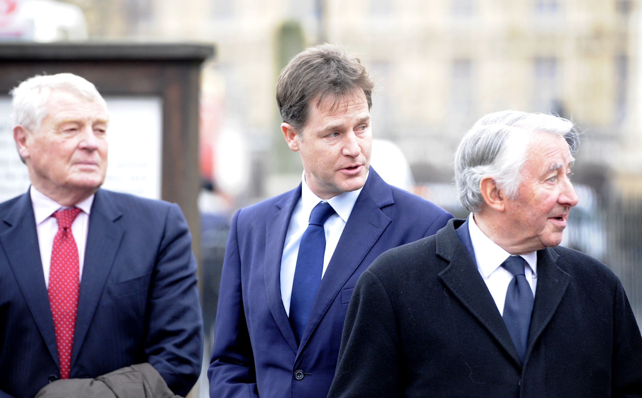 Lord Steel, Nick Clegg, Paddy Ashdown