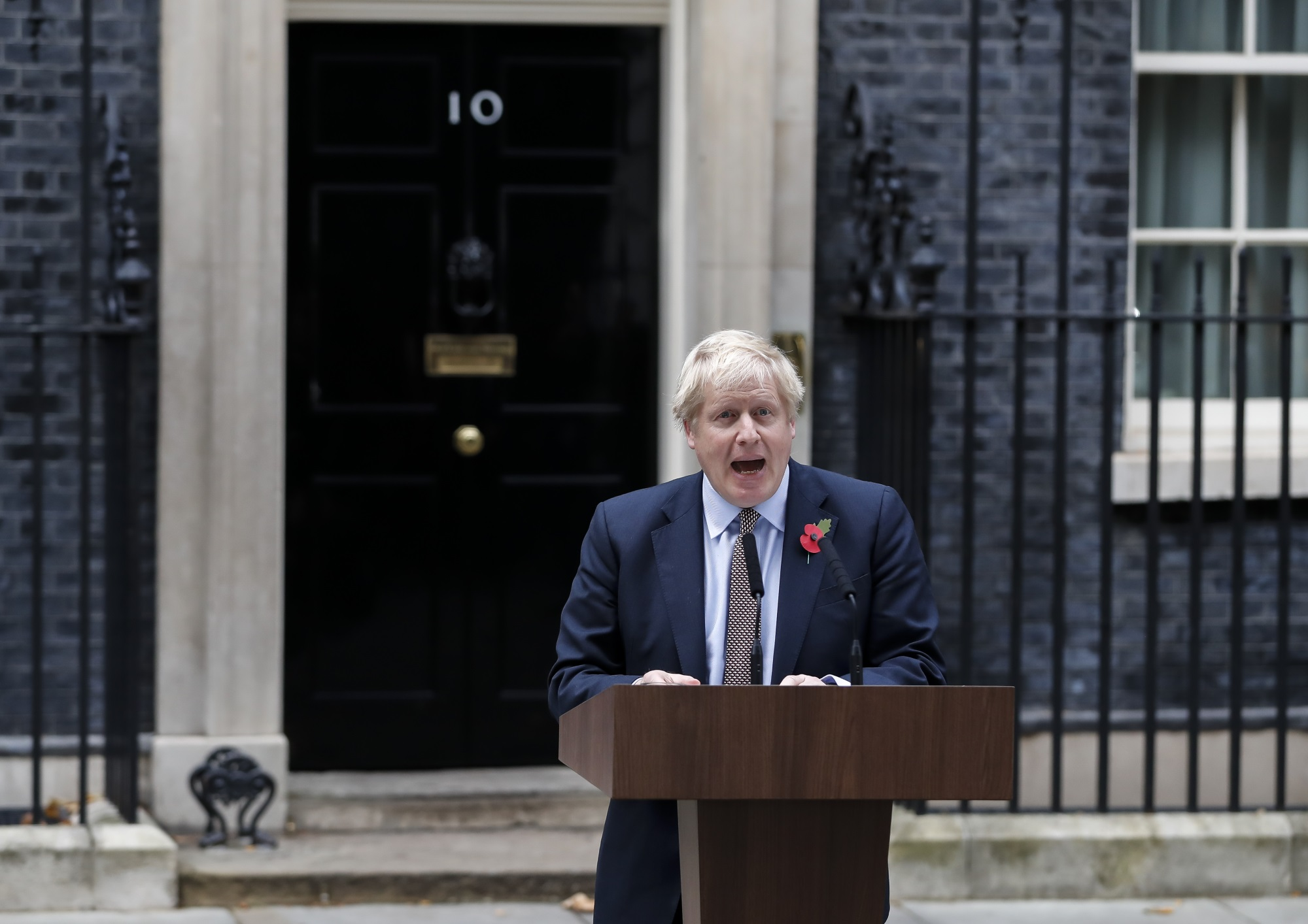 Boris Johnson announces election