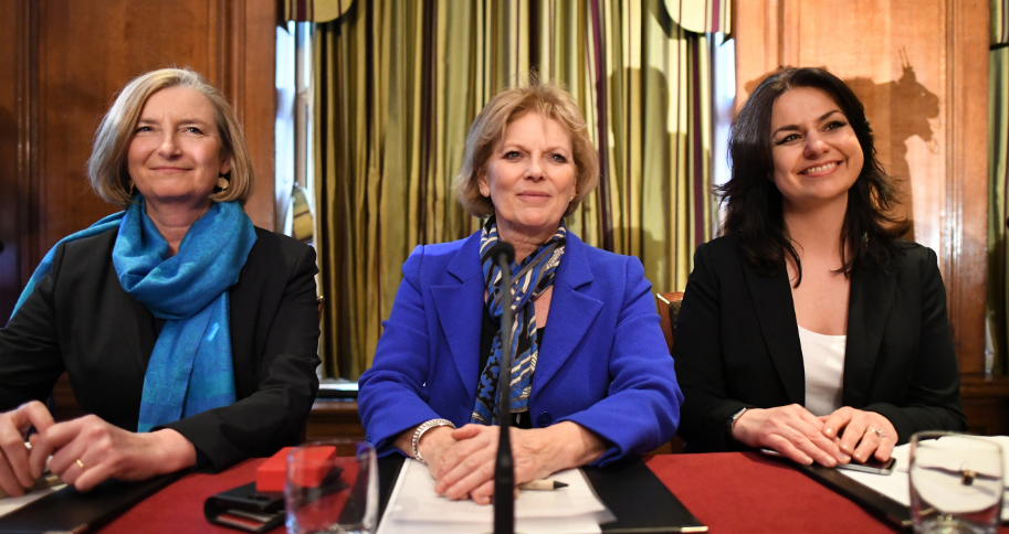 Sarah Wollaston, Anna Soubry and Heidi Allen